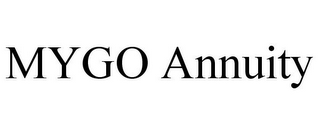 mark for MYGO ANNUITY, trademark #85710424