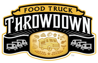 mark for FOOD TRUCK THROWDOWN, trademark #85710496