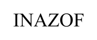 mark for INAZOF, trademark #85710755