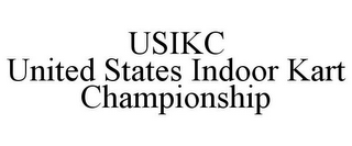 mark for USIKC UNITED STATES INDOOR KART CHAMPIONSHIP, trademark #85711321