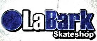 mark for LABARK SKATESHOP, trademark #85711332