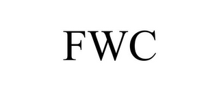 mark for FWC, trademark #85711449