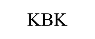 mark for KBK, trademark #85711650