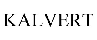 mark for KALVERT, trademark #85711771