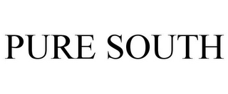 mark for PURE SOUTH, trademark #85711791