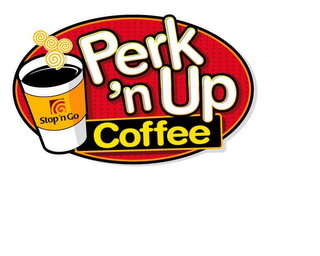 mark for STOP'N GO PERK 'N UP COFFEE, trademark #85711931