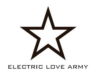 mark for ELECTRIC LOVE ARMY, trademark #85712135