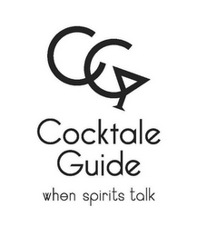 mark for CC COCKTALE GUIDE WHEN SPIRITS TALK, trademark #85712249