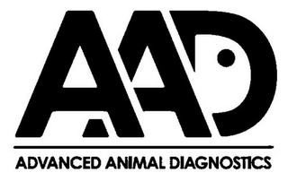 mark for AAD ADVANCED ANIMAL DIAGNOSTICS, trademark #85712348
