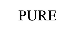 mark for PURE, trademark #85712360