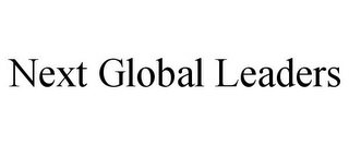 mark for NEXT GLOBAL LEADERS, trademark #85712427
