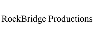 mark for ROCKBRIDGE PRODUCTIONS, trademark #85712523