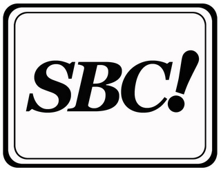 mark for SBC!, trademark #85712670