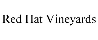 mark for RED HAT VINEYARDS, trademark #85713014