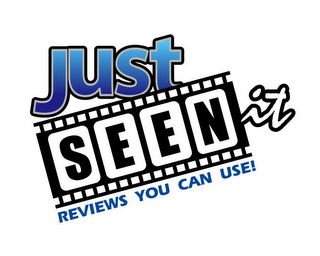 mark for JUST SEEN IT REVIEWS YOU CAN USE!, trademark #85713105