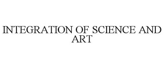mark for INTEGRATION OF SCIENCE AND ART, trademark #85713262
