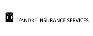 mark for DIG D'ANDRE INSURANCE SERVICES, trademark #85713274