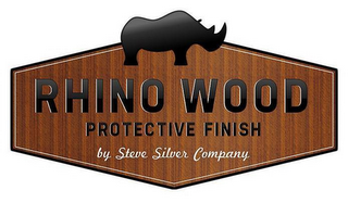 mark for RHINO WOOD PROTECTIVE FINISH BY STEVE SILVER COMPANY, trademark #85713328