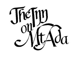 mark for THE INN ON MT. ADA, trademark #85713555