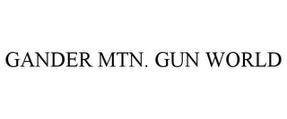 mark for GANDER MTN. GUN WORLD, trademark #85713590