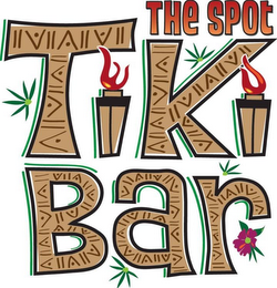 mark for THE SPOT TIKI BAR, trademark #85713927