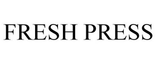 mark for FRESH PRESS, trademark #85713959