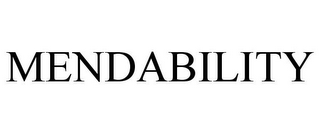 mark for MENDABILITY, trademark #85714935