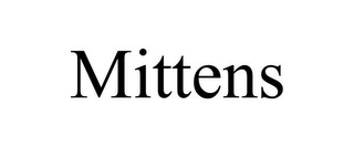 mark for MITTENS, trademark #85714972