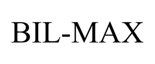 mark for BIL-MAX, trademark #85715069