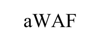 mark for AWAF, trademark #85715186