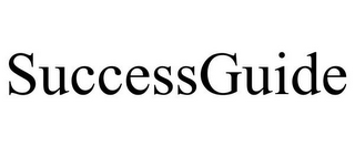 mark for SUCCESSGUIDE, trademark #85715268