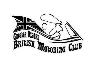 mark for GREATER OZARKS BRITISH MOTORING CLUB, trademark #85715274