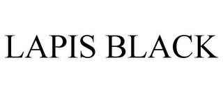 mark for LAPIS BLACK, trademark #85715375