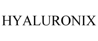 mark for HYALURONIX, trademark #85715412
