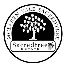 mark for MCLAREN VALE SACREDTREE SACREDTREE E S T A T E, trademark #85715475