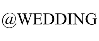 mark for @WEDDING, trademark #85715524