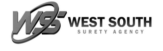 mark for WS WEST SOUTH SURETY AGENCY, trademark #85715547