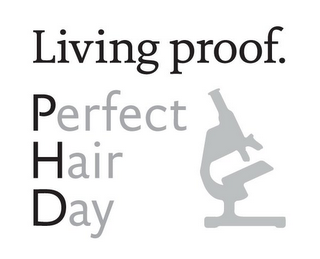 mark for LIVING PROOF. PERFECT HAIR DAY, trademark #85715864