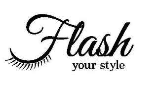 mark for FLASH YOUR STYLE, trademark #85715990