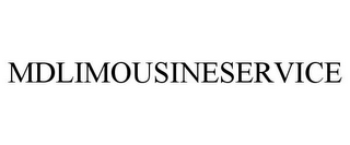 mark for MDLIMOUSINESERVICE, trademark #85716382