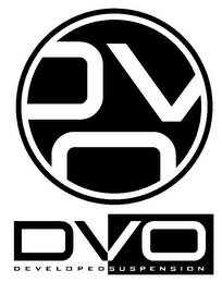 mark for DVO DVO DEVELOPED SUSPENSION, trademark #85716536