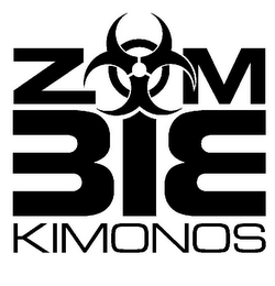 mark for ZOM BIE KIMONOS, trademark #85716817
