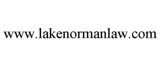 mark for WWW.LAKENORMANLAW.COM, trademark #85716818