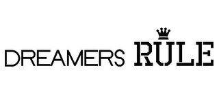 mark for DREAMERS RULE, trademark #85716954