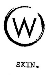 mark for W SKIN., trademark #85717057