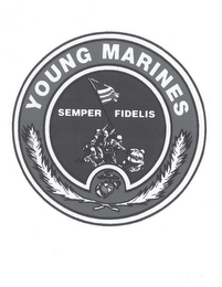 mark for YOUNG MARINES SEMPER FIDELIS, trademark #85717253