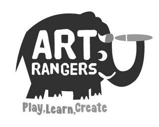 mark for ART RANGERS PLAY, LEARN, CREATE, trademark #85717972