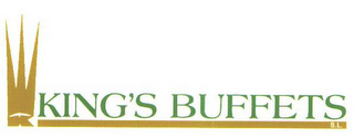 mark for K KING'S BUFFETS S.L., trademark #85718140