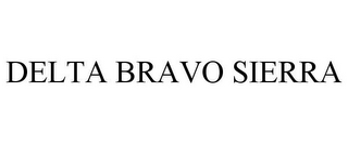 mark for DELTA BRAVO SIERRA, trademark #85718158