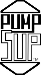 mark for PUMP SUP, trademark #85718256